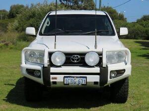 2007 Toyota Landcruiser VDJ200R GXL (4x4) White 8 Speed Automatic Wagon East Rockingham Rockingham Area Preview