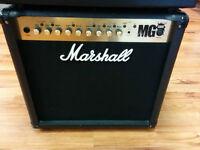 MG50FX Marshall 50 Watts 1X12 ampli de guitare
