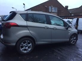 FORD B-MAX ZETEC AUTO 2012 BREAKING FOR SPARES