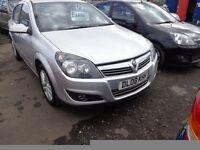 2008 Vauxhall Astra 1.6 Petrol 5 Door 140,000 miles great driver MOT'd 1 Year £1395