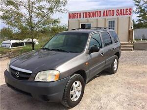 2003 MAZDA TRIBUTE SUV DX - 4X4 - LOW KM - POWER OPTIONS