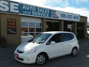2008 Honda Fit Lx Sedan Certified + Etested  $4495