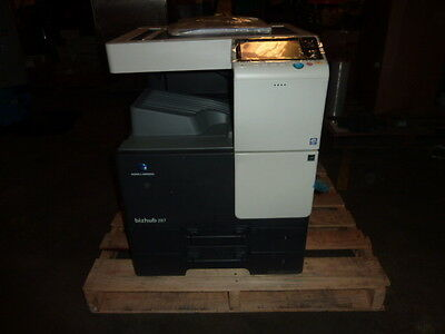 Konica Minolta Bizhub 287 Copier Printer Scanner New With Damage For Parts