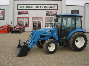 New 36.5 HP LS tractor with cab and loader
