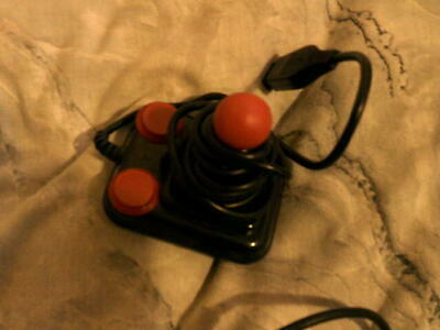 Amiga/Atari Mini Competition Pro 5000 Joystick tested in good condition