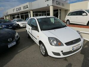 2007 Ford Fiesta Auto LX White 4 Speed Automatic Hatchback Victoria Park Victoria Park Area Preview
