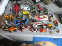 ASSORTED LEGO VEHICLES AND PARTS LOT