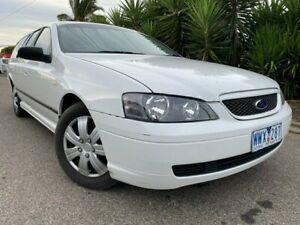 2005 Ford Falcon BA MkII XT (LPG) White 4 Speed Auto Seq Sportshift Wagon