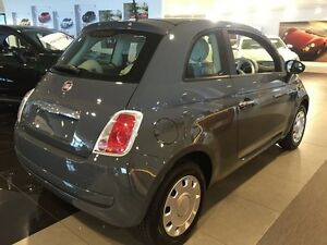 2014 Fiat 500 Series 3 POP Colosseum Grey 5 Speed Manual Hatchback Artarmon Willoughby Area Preview