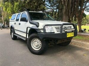 2005 Holden Rodeo RA LX (4x4) White 5 Speed Manual Crew Cab Pickup Strathfield Strathfield Area Preview