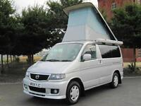 2004 MAZDA BONGO FRIENDEE AUTO FREE POP TOP CAMPER * 8 SEATER * ONLY 56000 MILES
