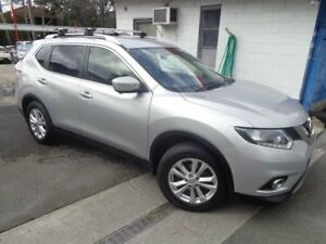 2014 Nissan X-Trail T32 ST-L (4x4) Silver Continuous Variable Wagon Sylvania Sutherland Area Preview