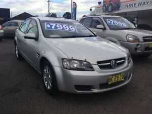 2009 Holden Commodore VE MY09.5 Omega Silver 4 Speed Automatic Sedan Broadmeadow Newcastle Area Preview