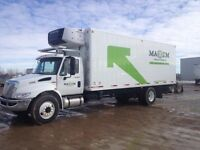 2013 International 4300 4x2, Used Reefer Van