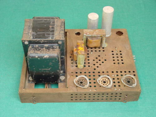 "Power Supply for 1954 Westinghouse H840CK15, 15"" Color TV, Unrestored, Original"