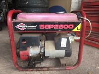 Briggs and Stratton 2600 petrol generator