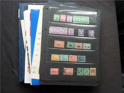 UPA7737 NR 144 pics USA MINT & USED STAMPS & MINISHEETS COLLECTION