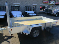 2015 Sure-Trac 6x10 Galvanized High Side Utility