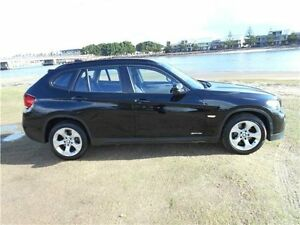 2011 BMW X1 E84 MY11 sDrive18i Steptronic Black 6 Speed Sports Automatic Wagon Hamilton East Newcastle Area Preview