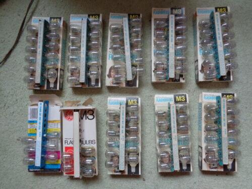107 M3 flashbulbs NOS