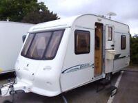 2003 Elddis Avante 475 inc a mover COMPACT 5 Berth Touring Caravan.