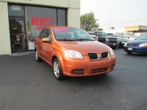 2007 PONTIAC WAVE LOW KMS