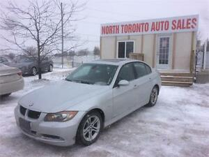 2008 BMW 3 SERIES 328XI - VALID E TEST - SUNROOF - HEATED SEATS
