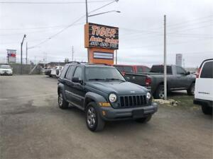 2005 Jeep Liberty Sport**4X4** ONLY 173 KMS** AS IS SPECIAL**