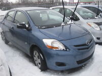 2008 TOYOTA YARIS , AUTO, only 98km !! 12M.WRTY+SAFETY for $6495