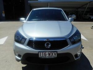 2012 Ssangyong Actyon Sports Q150 MY12 Tradie 4x2 Silver 6 Speed Sports Automatic Utility Yamanto Ipswich City Preview