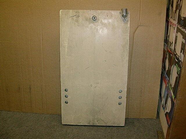1940s Bally or Mills console slot door or arcade game door # 2