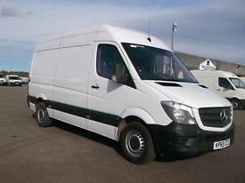 Mercedes-Benz Sprinter 313 CDI MWB HIGH ROOF VAN DIESEL MANUAL WHITE (2015)