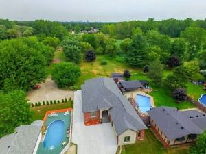 ***OPEN HOUSE SUNDAY 2-4PM IN LASALLE, 2.4 ACRES RANCH***