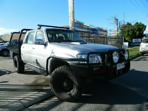 2009 Nissan Patrol GU VI ST (4x4) Grey 4 Speed Automatic Wagon Williamstown North Hobsons Bay Area Preview