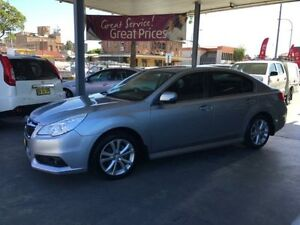 2013 Subaru Liberty B5 MY14 2.5I Silver 6 Speed Continuous Variable Sedan Hamilton Newcastle Area Preview