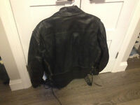 Men's Motorcycle Jacket Barely Used