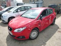 SEAT IBIZA 1.2 **LOW MILEAGE** - EG59JJK - DIRECT FROM INS CO