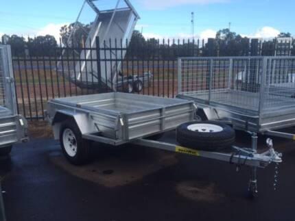 Single Axle Box Top Trailers Wangara Wanneroo Area Preview