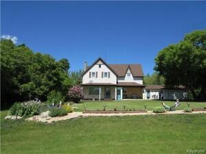 Farmland (cultivated & 6 ac pasture) with 5 BR character home!