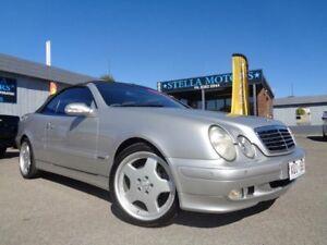 2002 Mercedes-Benz CLK320 Elegance Silver 5 Speed Automatic Cabriolet Pooraka Salisbury Area Preview