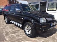2005 55 MITSUBISHI L200 2.5 4WD TROJAN LWB DCB 1D 114 BHP DIESEL