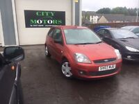 Ford Fiesta Mk6.5 1.25, New MOT, Service, Warranty, Great Condition