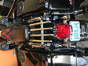 Harley Touring Quick release Stealth luggage rack
