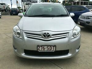 2012 Toyota Corolla ZRE152R MY11 Ascent Sport Silver 6 Speed Manual Hatchback Southport Gold Coast City Preview