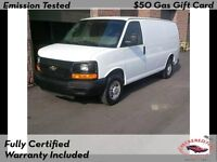 2008 Chevrolet Expres Cargo Van*shelvings*divider* 2 TO CHOOSE