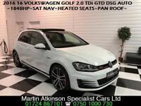 2016 16 Volkswagen Golf 2.0 TDi GTD DSG Automatic MK7 184BHP~BIG SPEC~
