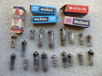 Valves – selection of thermionic valves for spares, some in original packing