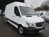 Mercedes-Benz Sprinter 314 CDi MWB High Roof 3.5T Van DIESEL MANUAL WHITE (2016)