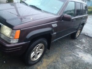 1997 jeep grand cherokee limited v8