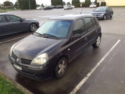 2003 Renault Clio Expression 5 Door - Black Melbourne CBD Melbourne City Preview